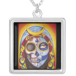 Guadalupe Silver Plated Necklace