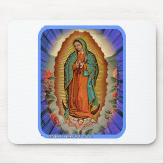 GUADALUPE VIRGIN  04  CUSTOMIZABLE PRODUCTS MOUSEPAD