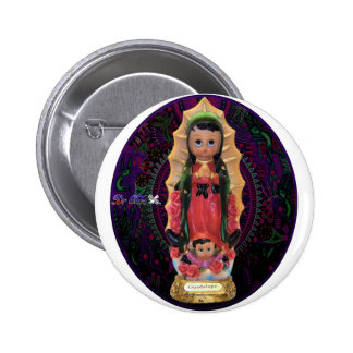 GUADALUPE VIRGIN CUSTOMIZABLE PRODUCTS PINBACK BUTTON