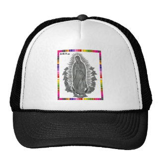 GUADALUPE VIRGIN  MEXICO 13 CUSTOMIZABLE PRODUCTS MESH HAT