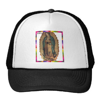 GUADALUPE VIRGIN  MEXICO 15 CUSTOMIZABLE PRODUCTS MESH HATS