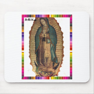 GUADALUPE VIRGIN  MEXICO 15 CUSTOMIZABLE PRODUCTS MOUSE PAD