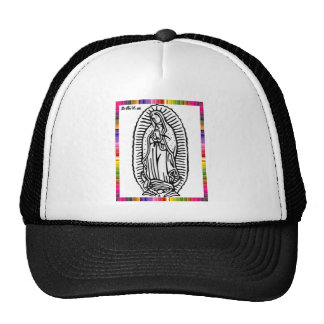 GUADALUPE VIRGIN  MEXICO 18 CUSTOMIZABLE PRODUCTS MESH HAT