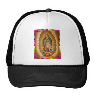GUADALUPE VIRGIN  MEXICO 19 CUSTOMIZABLE PRODUCTS TRUCKER HAT