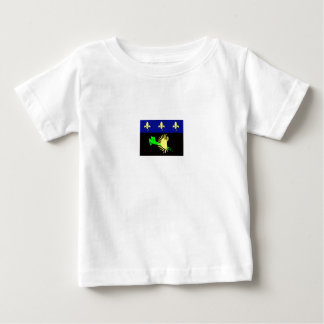 guadeloupe-flag- baby T-Shirt