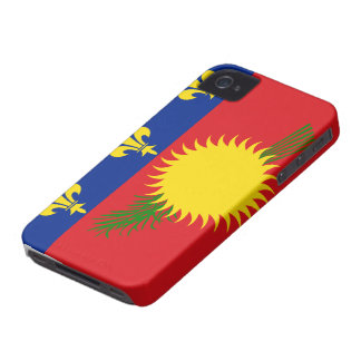 Guadeloupe Flag Case-Mate iPhone 4 Cases