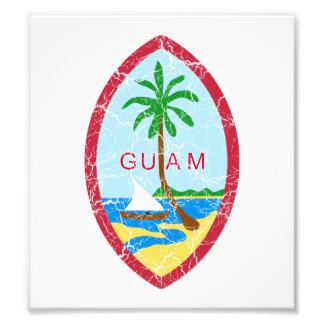 Guam Coat Of Arms Art Photo