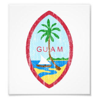 Guam Coat Of Arms Photograph