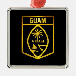 Guam Emblem Metal Ornament