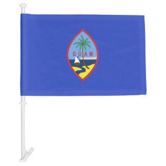 Guam Flag Car Flag