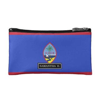 Guam Flag Cosmetic Bags