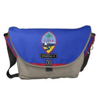 Guam Flag Courier Bags