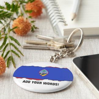 Guam Flag Key Ring