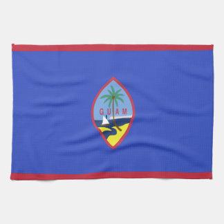 Guam Flag Kitchen Towel