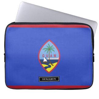 Guam Flag Laptop Sleeve