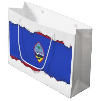 Guam Flag Large Gift Bag