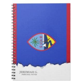 Guam Flag Notebooks
