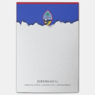 Guam Flag Post-it Notes