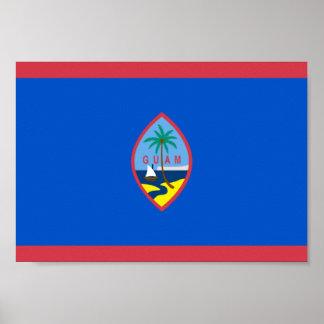 Guam Flag Poster