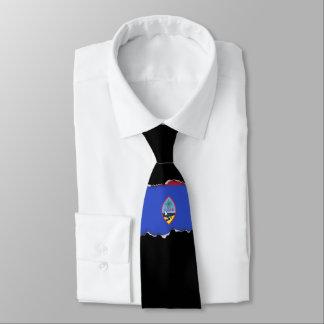 Guam Flag Tie