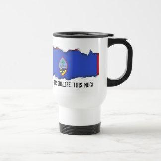 Guam Flag Travel Mug