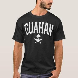 GUAM RUN 671 Guahan All Caps T-Shirt