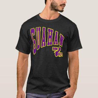 GUAM RUN 671 Guahan Pennant Purple and Gold T-Shirt