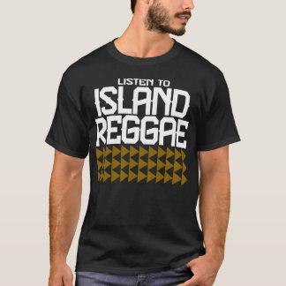 GUAM RUN 671 Listen to Island Reggae II T-Shirt