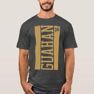 GUAM RUN 671 Vertical Bars T-Shirt