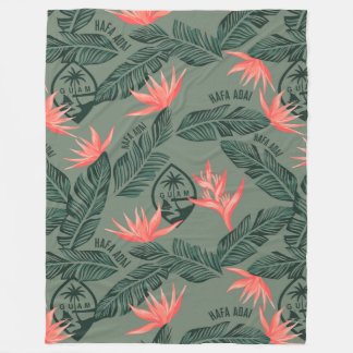GUAM SEAL TROPICAL BLANKET
