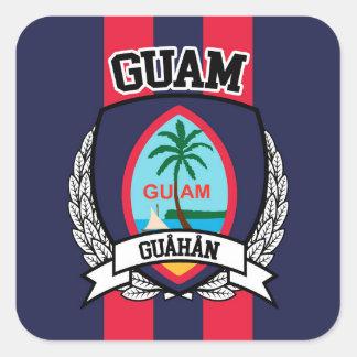 Guam Square Sticker