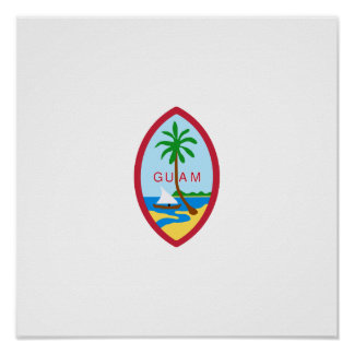 Guam State Seal Posters