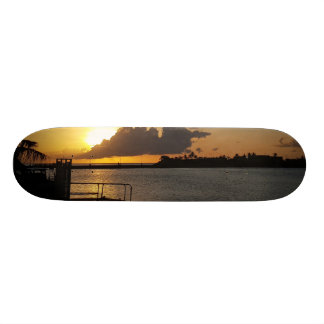 Guam Sunset Skate Board Decks