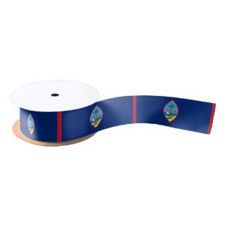 Guamanian flag ribbon satin ribbon