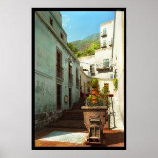 Guanajuato Alley Poster