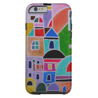 Guanajuato Mexico Abstract Painting Tough iPhone 6 Case