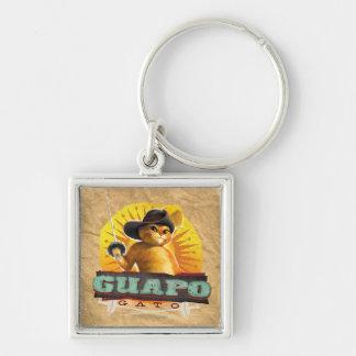 Guapo Gato Keychain