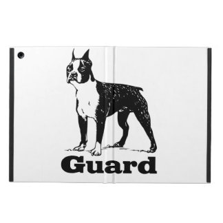 Guard Dog Boston Terrier Cover For iPad Air