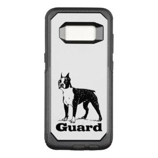 Guard Dog Boston Terrier OtterBox Commuter Samsung Galaxy S8 Case