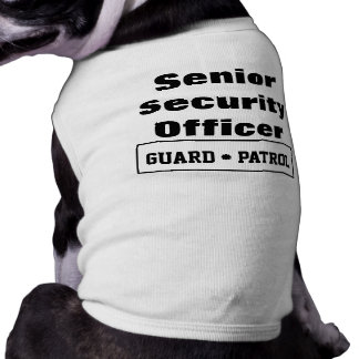 Guard Dog Pet Tshirt