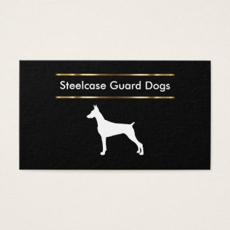 Guard Dog Training And Sales Business Card