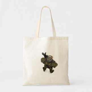 Guard Duty Tote Canvas Bag