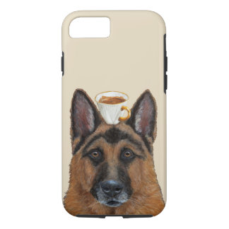 Guard of the espresso Apple iPhone 7, Tough Case