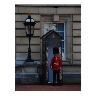Guard Postcard