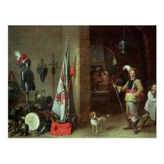 Guard Room Postcard