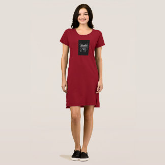 Guard Your Heart Alternative Apparel T-Shirt Dress