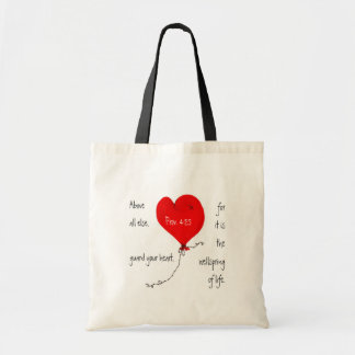 Guard Your Heart Christian Bag