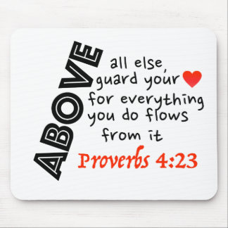 Guard your HeArT!! Mouse Pad