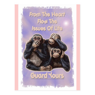 Guard Yours Postcard