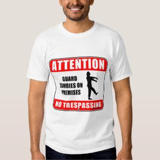 Guard Zombies T-shirt